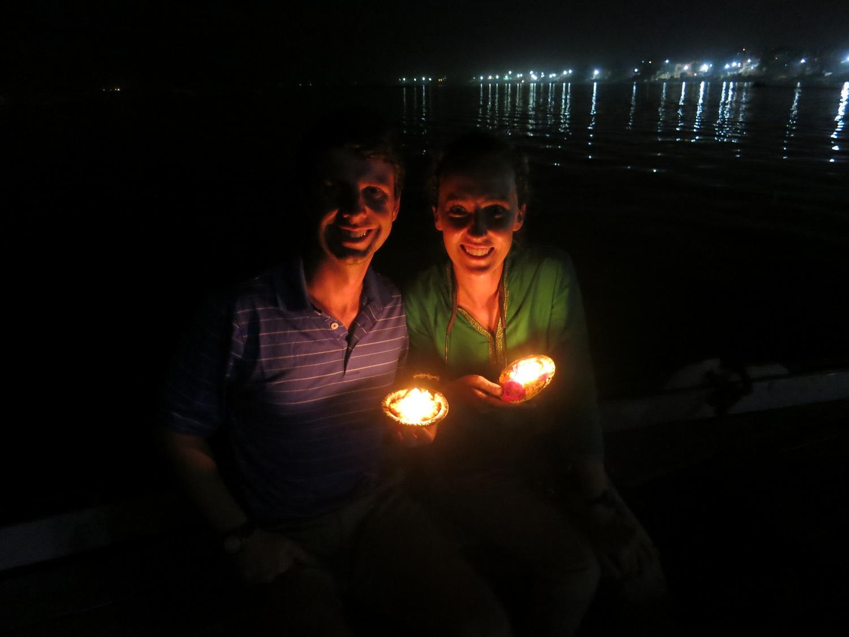 India Varanasi Candle Release