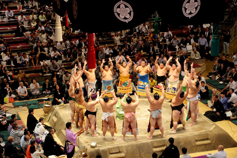 Tokyo Sumo Wrestling Tournmanet