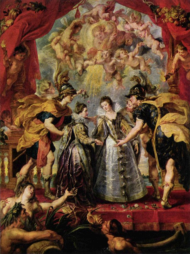 The Exchange of the Princesses at the Spanish Border