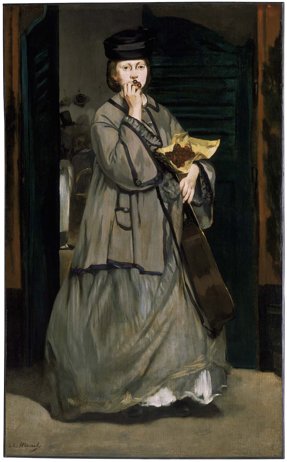 The Street Singer, Edouard Manet, c. 1862, 67 3/8 x 41 5/8 in, Oil on canvas