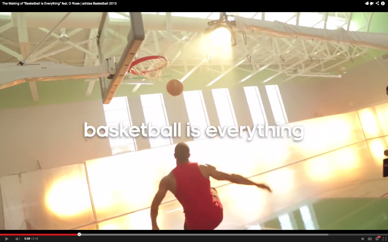 Adidas Basketball Commercial 2013