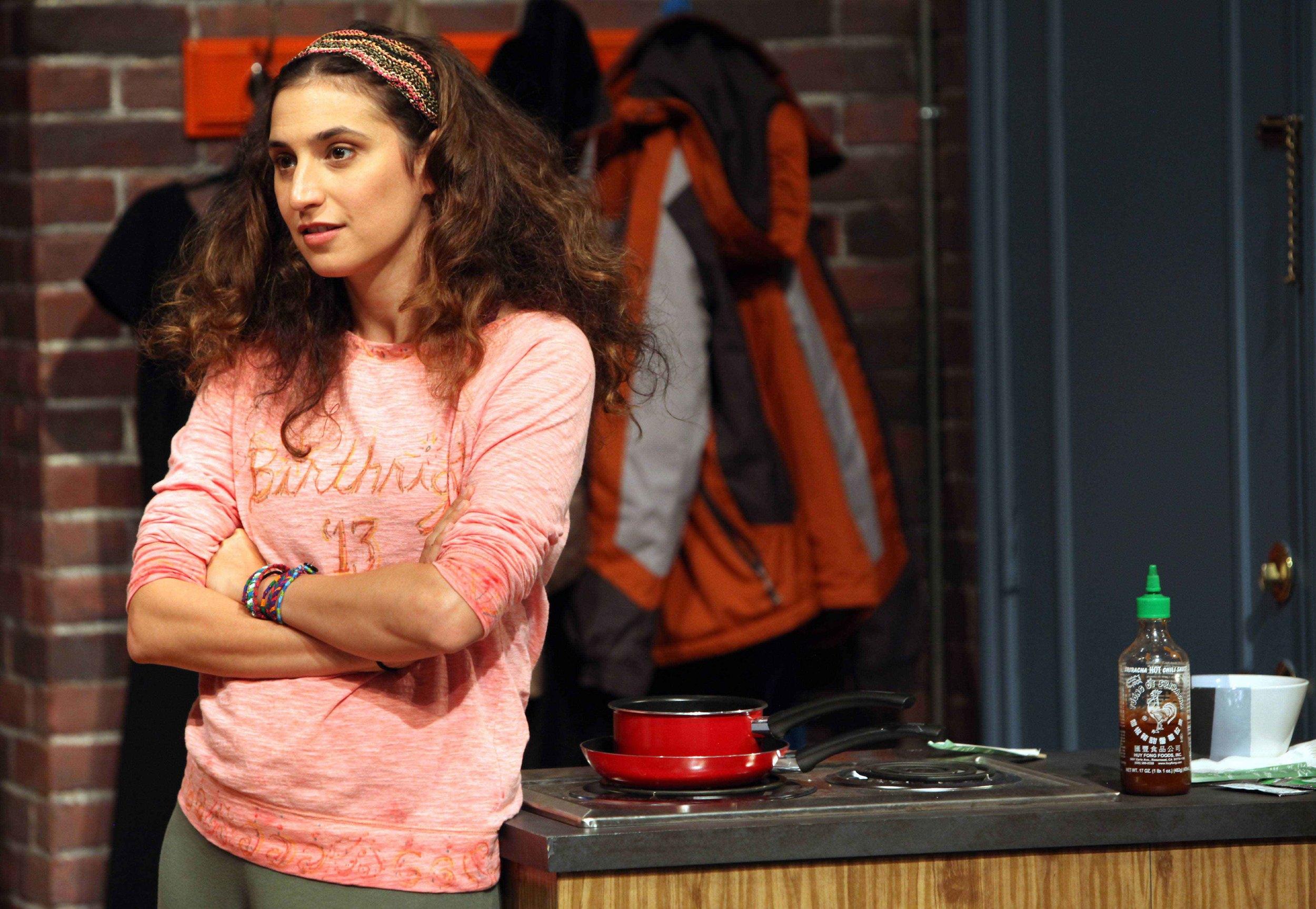 "Rebecca Benhayon as Daphna in the Bay Area Premiere of ""Bad Jews"" by Josh Harmon."