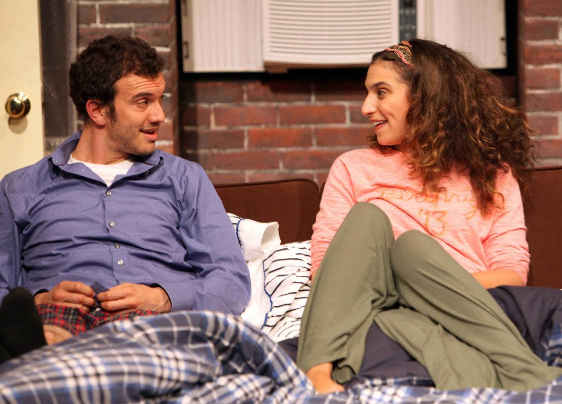 """"""" 'Cause I think you would really, really love Vasser."""" (With Kenny Toll in Josh Harmon's """"BAD JEWS"""")"""