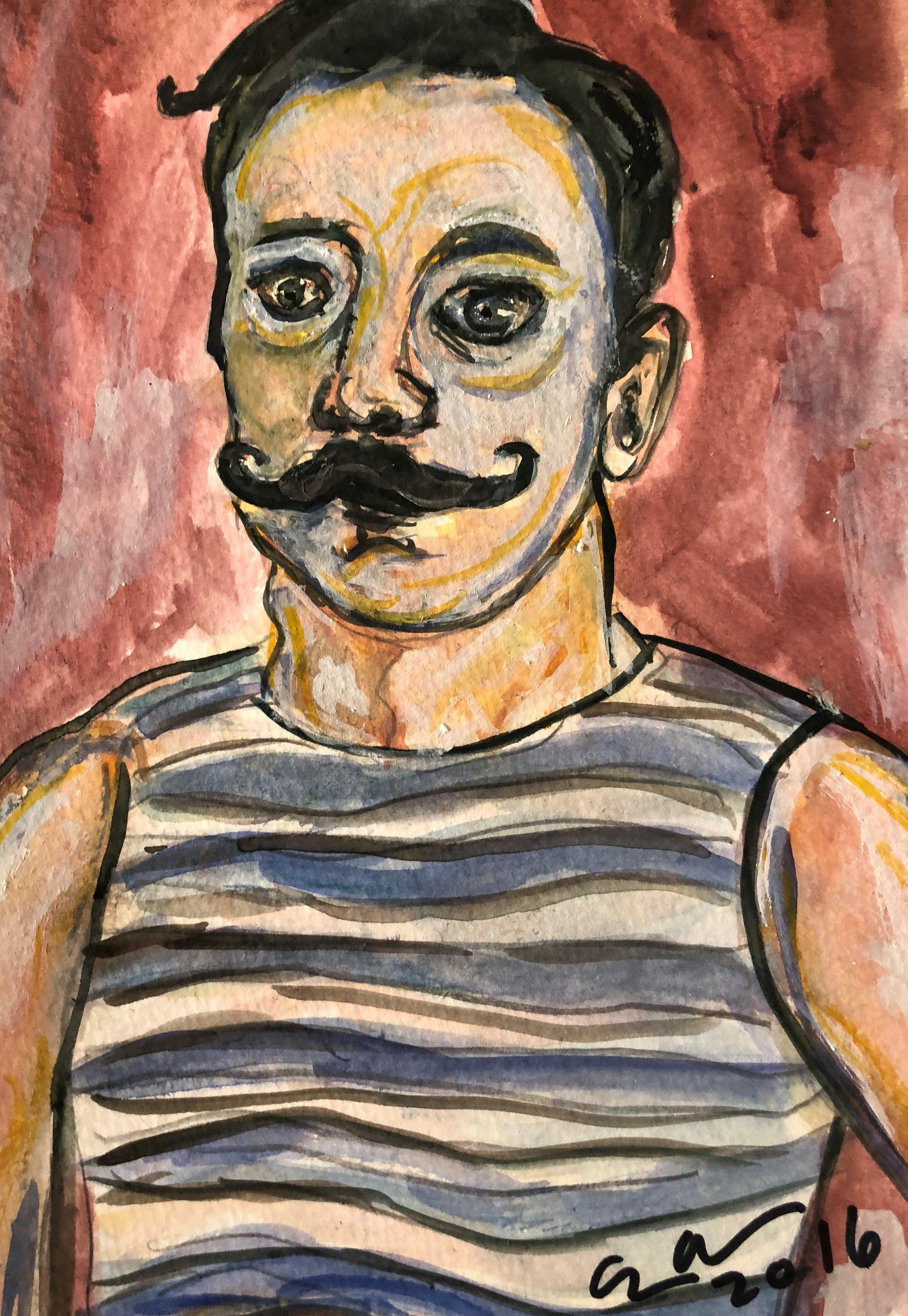 Mustache Man # 8
