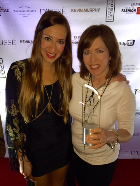 Nominated and awarded Jewelry Designer Of The Year by DLIST Magazine.