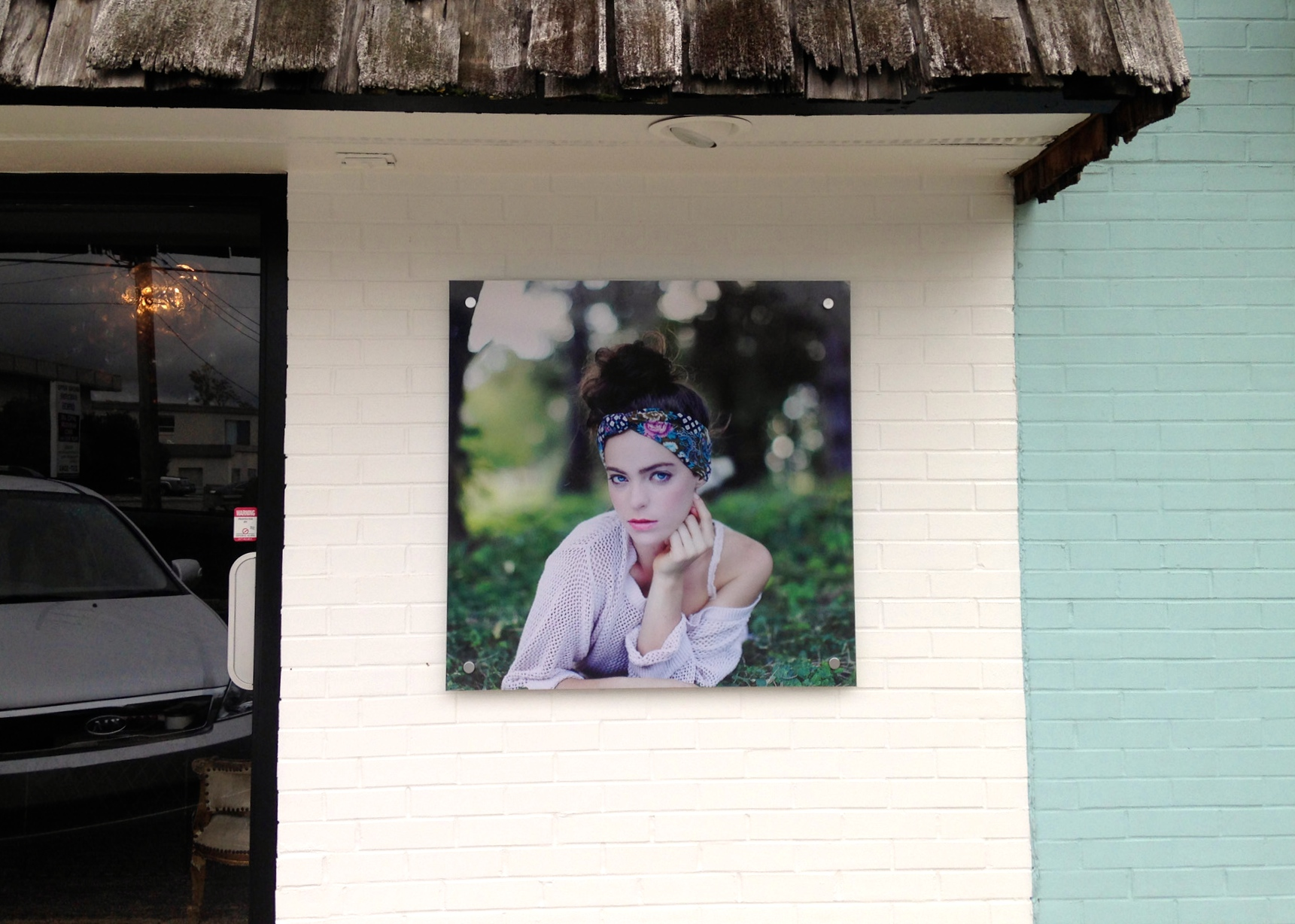 Exterior Digitally Printed Photography for Sarah Morris Photography