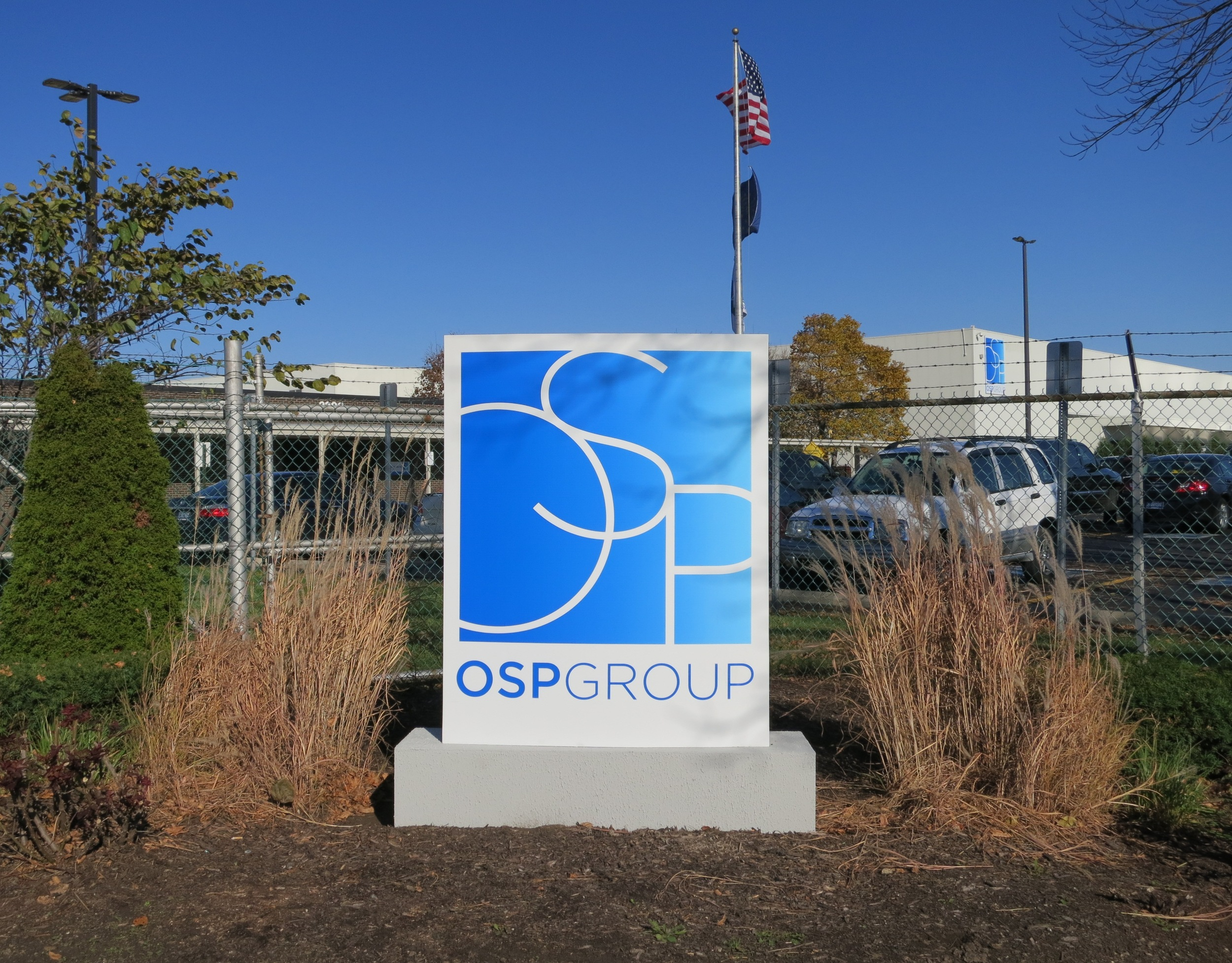Monument Signage for OSP Indianapolis