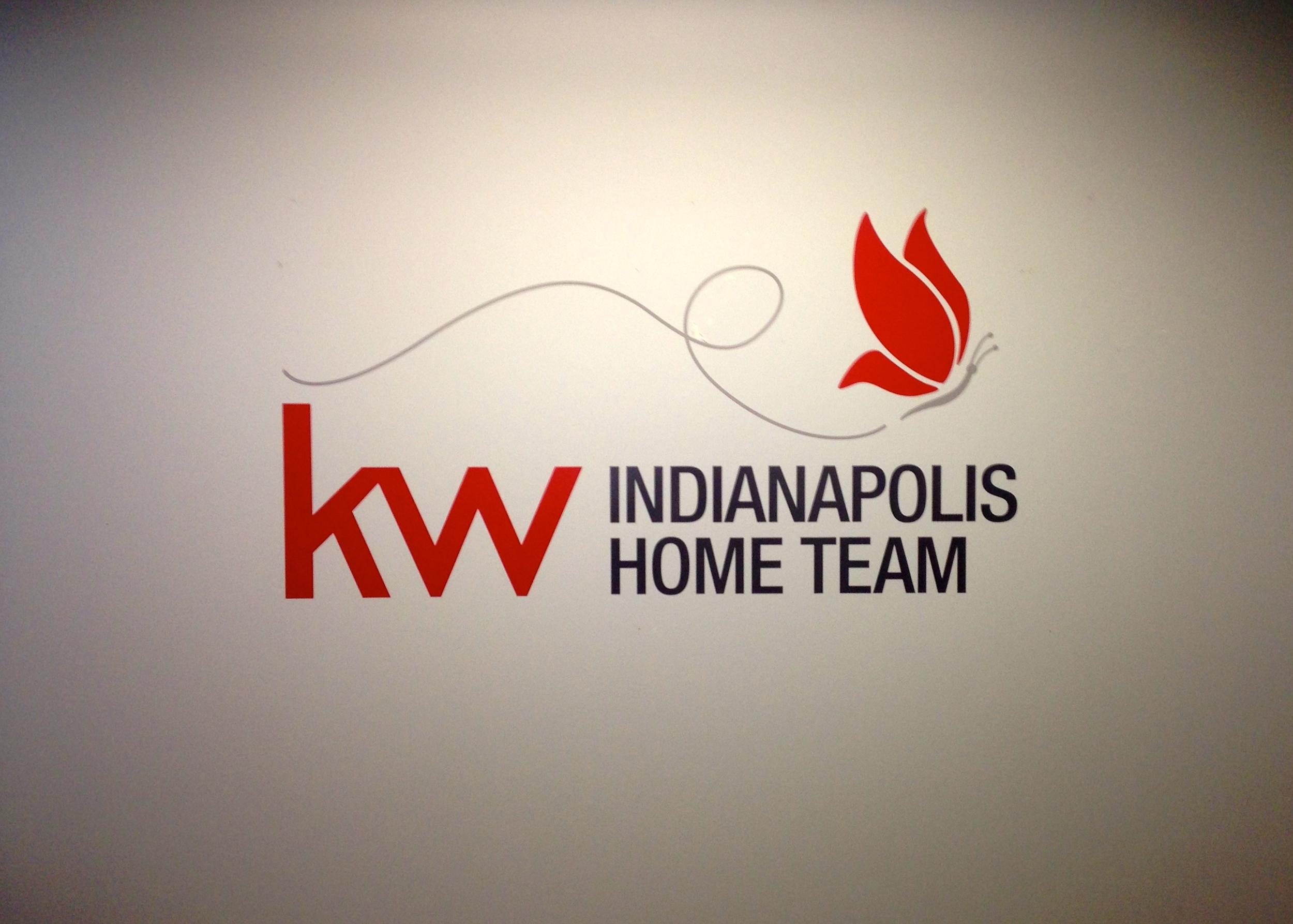 Interior Office Vinyl Wall Logo for Keller Williams