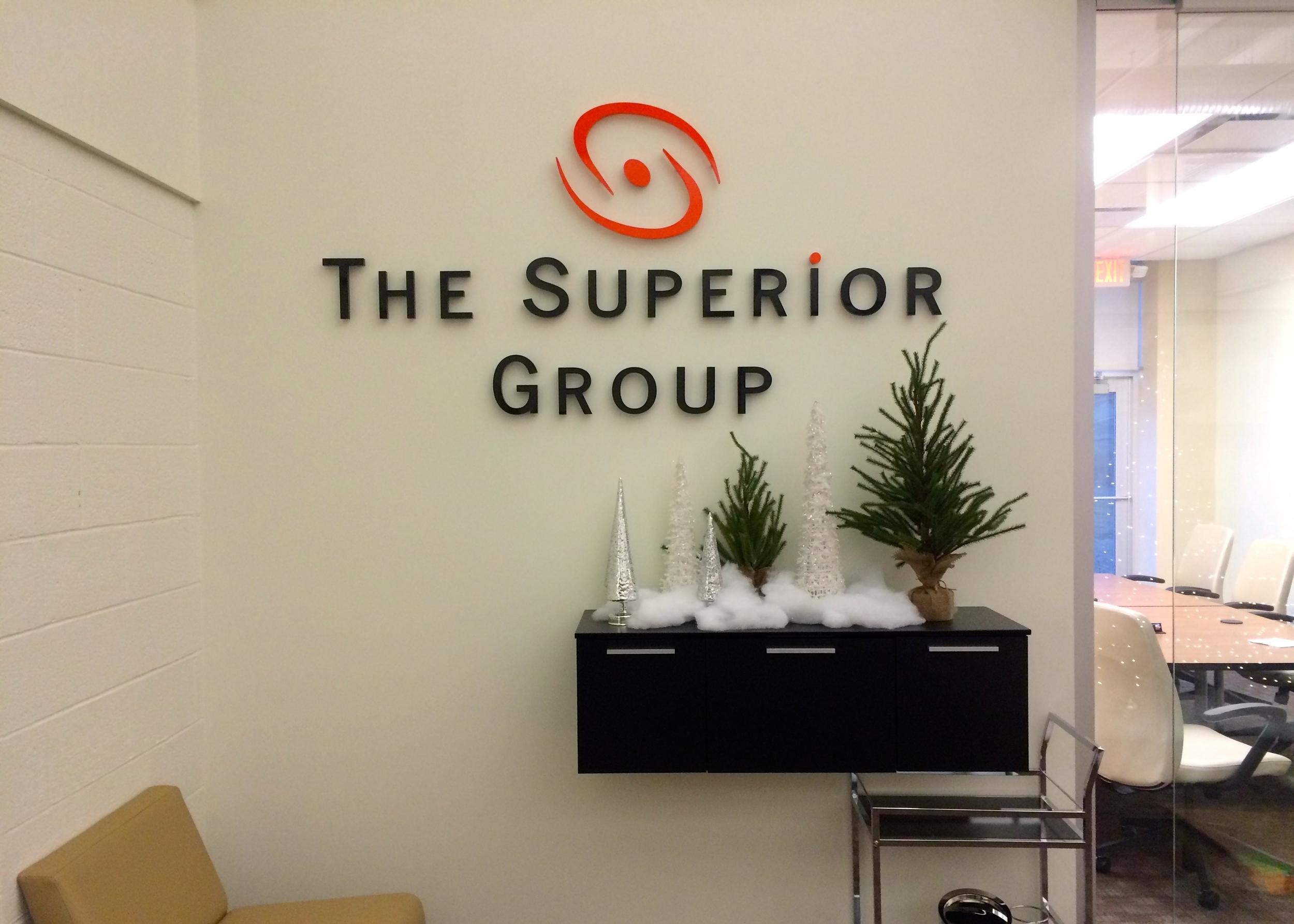 2014.12.17 The Superior Group Wall Logo.JPG