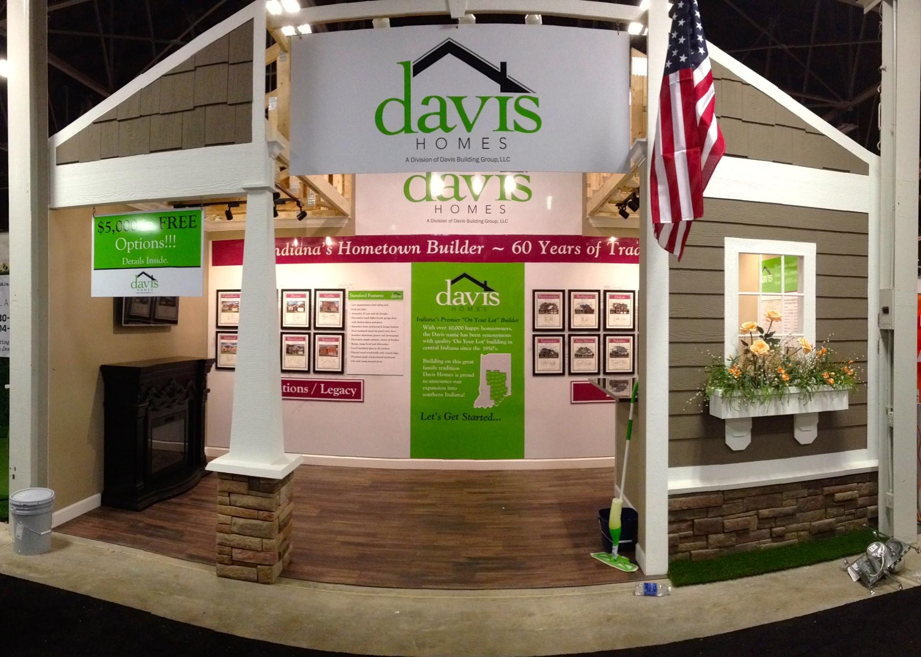 Davis Homes - 2015 Indianapolis Home Show Model Home