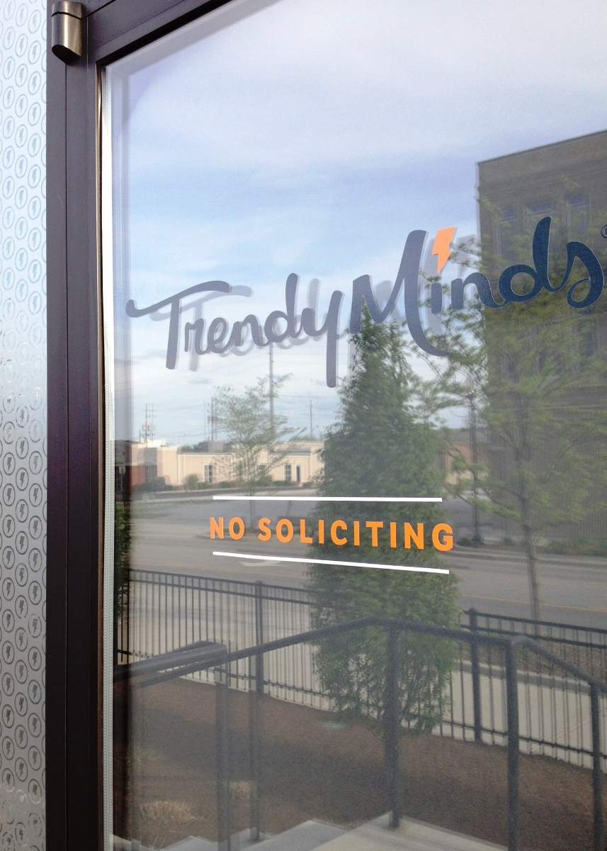 Window Vinyl Graphics for Trendy Minds