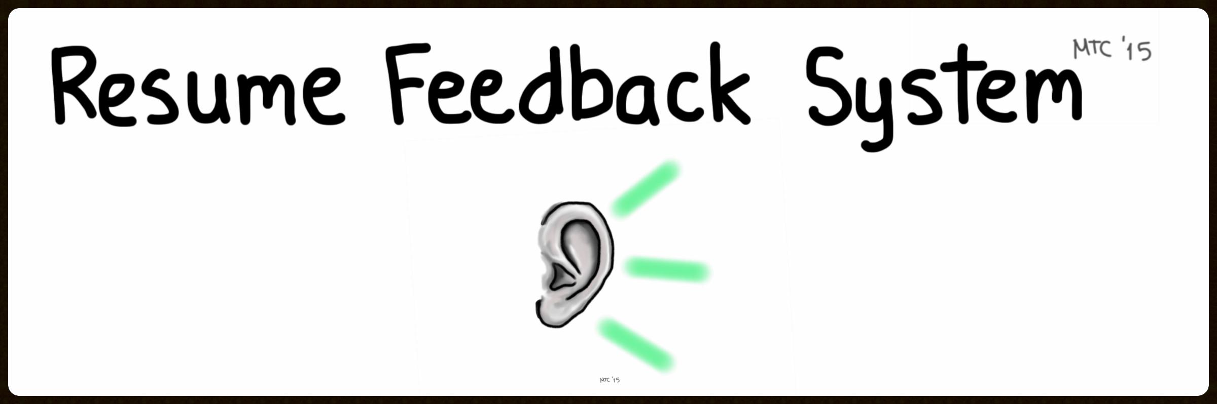 Resume Feedback System Tutorial Video