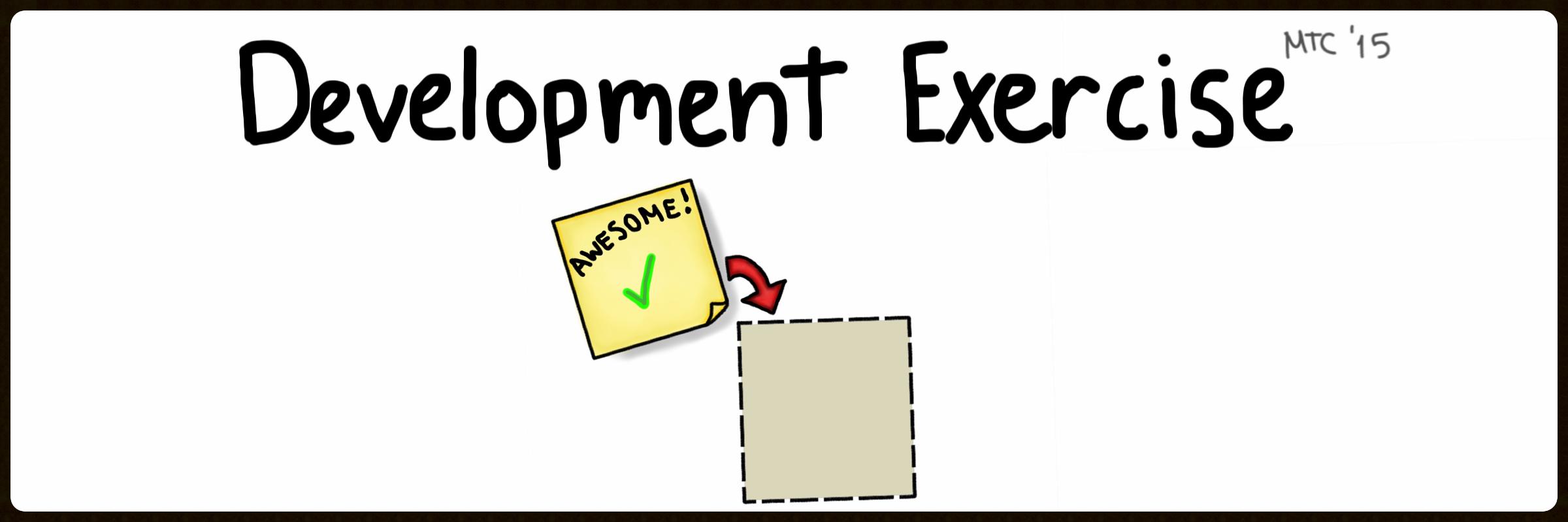 Development Exercise Tutorial Video