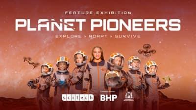 Scitech Planet Pioneers sound design interactive exhibition sound effects