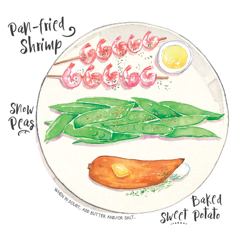 shrimp snow peas sweet potato.jpg