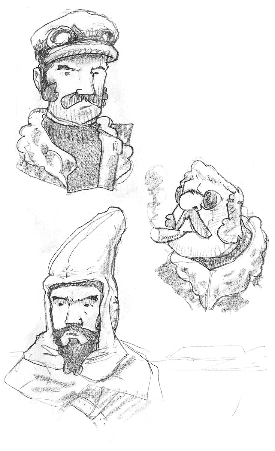 Consultation Character Concepts