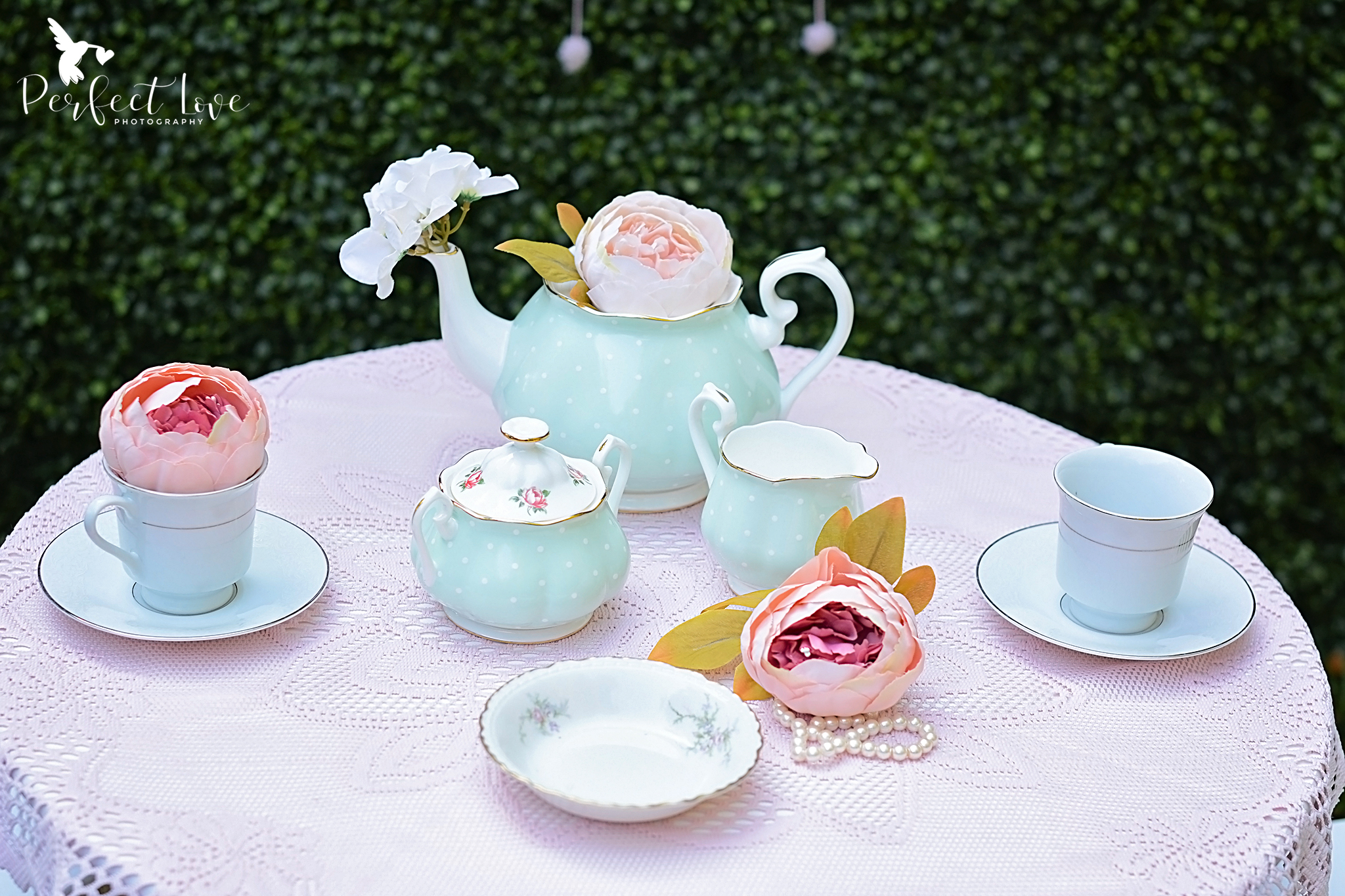 When I saw this Royal Albert Tea Set, I just had to have it! I love the vintage pattern of the set.