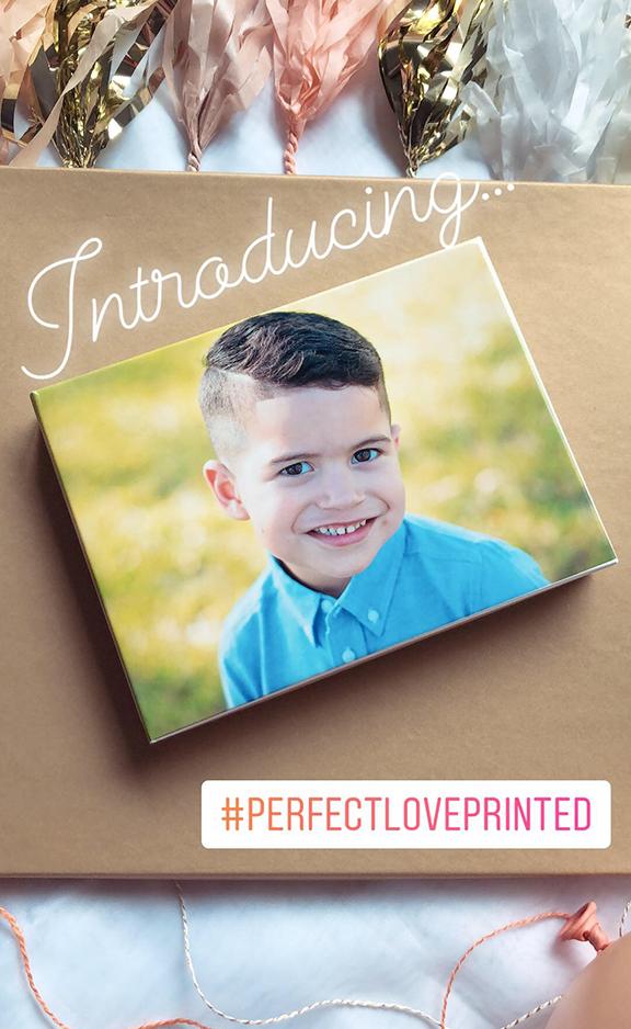 perfect love printed