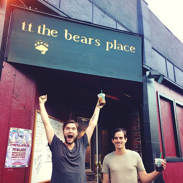 BOSTON! We are here and excited to play @ttthebears place tonight with @krisorlowski ! Take a study break and come get rowdy with us! Doors at 8!