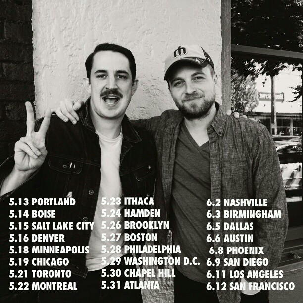 I&A hits the road Wednesday w/ Kris Orlowski!   Tickets going quick, don't wait, get 'em here; bandsintown.com/IvanAndAlyosha