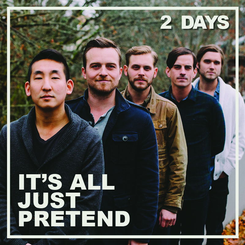 """It's All Just Pretend"" is almost here!  Releasing on Monday, May 4th."