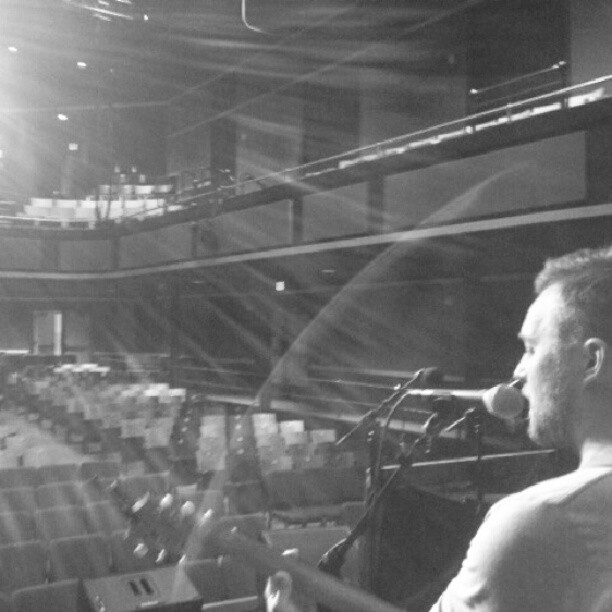 Soundcheck for Livewire tonight in Portland!