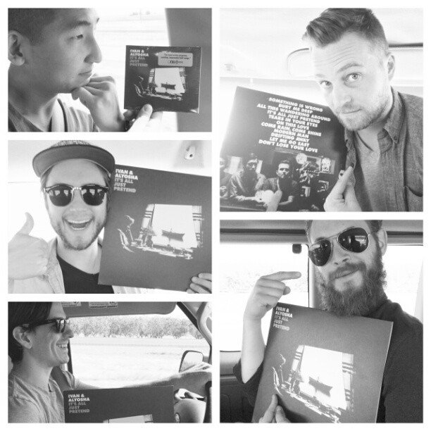 """Happy 2 weeks before the official release of """"lt's All Just Pretend! That means if you PRE-ORDER the record today you get the whole thing! We're excited,  are you excited?      Get it here, dualtone.com"""