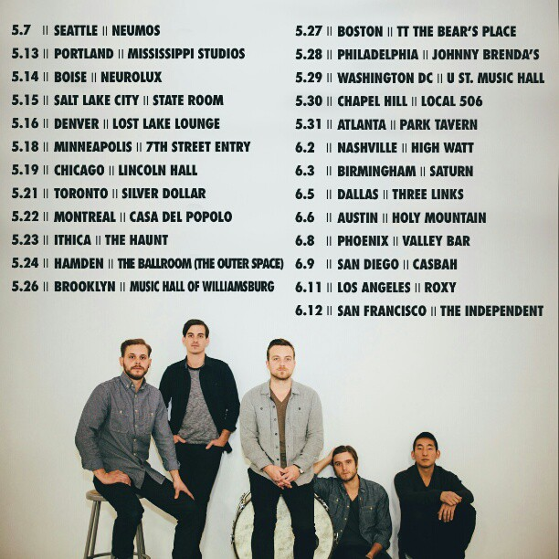 Updated Spring / Summer Tour Dates!