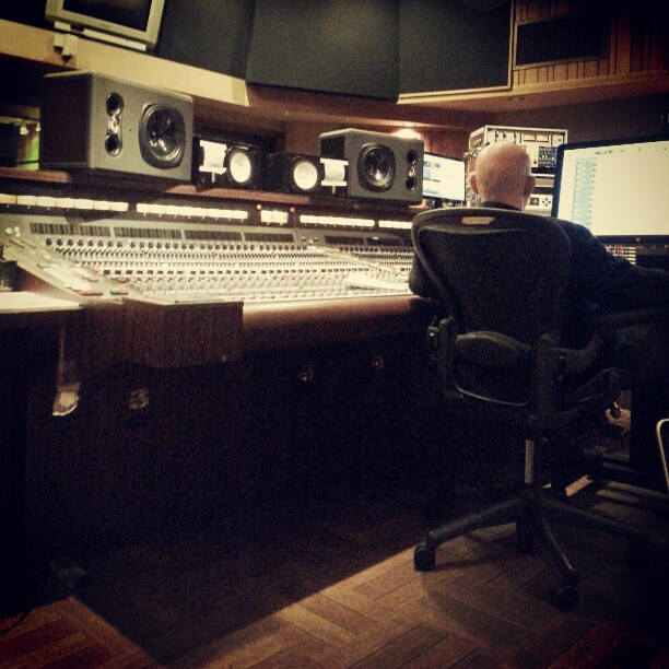 Day 1 in Los Angeles finishing new I&A record with Joe Chicarelli!