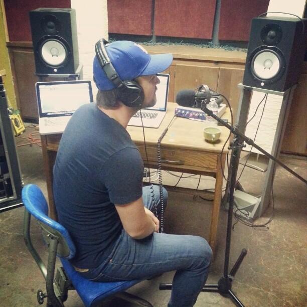 Day 3, vocals in studio B at Blackwatch.