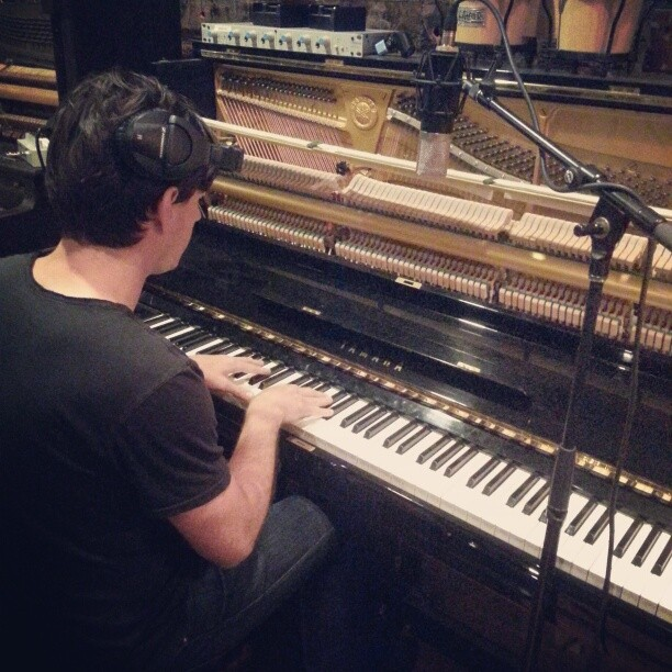Day One, Ryan on the pianer…