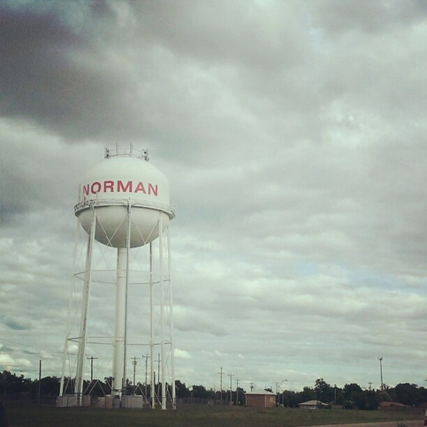 """""""Well I've never been to Heaven,  but I've been to Oklahoma""""."""