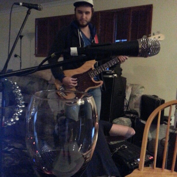 """Rehearsal for """"A Holiday Evening With Ivan & Alyosha"""", Saturday's Sold Out Show at Showbox."""