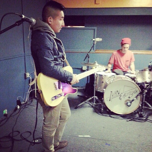 Tim Kim and Will, ready to shred in Cleveland…