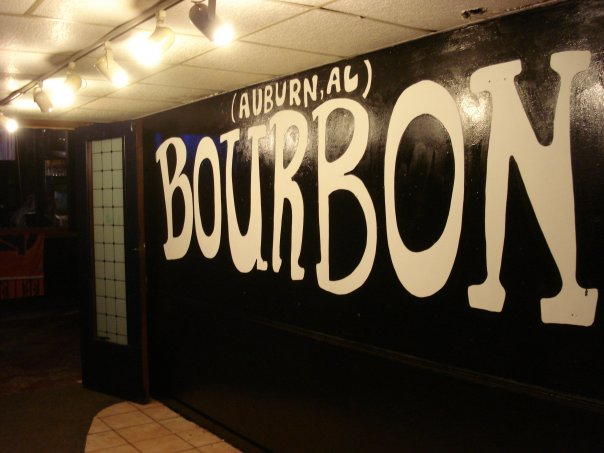 After a day off playing football, it's time to get back on stage at Bourbon St. Bar in Auburn, Alabama at 8pm tonight! Tickets  HERE .