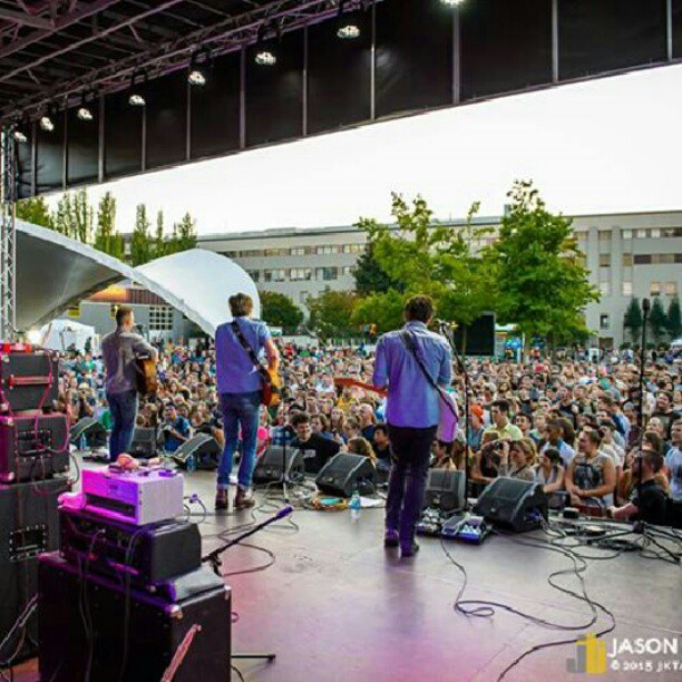 Bumbershoot was epic! Appreciate everyone who came out, and Jason Tang for this rad shot!