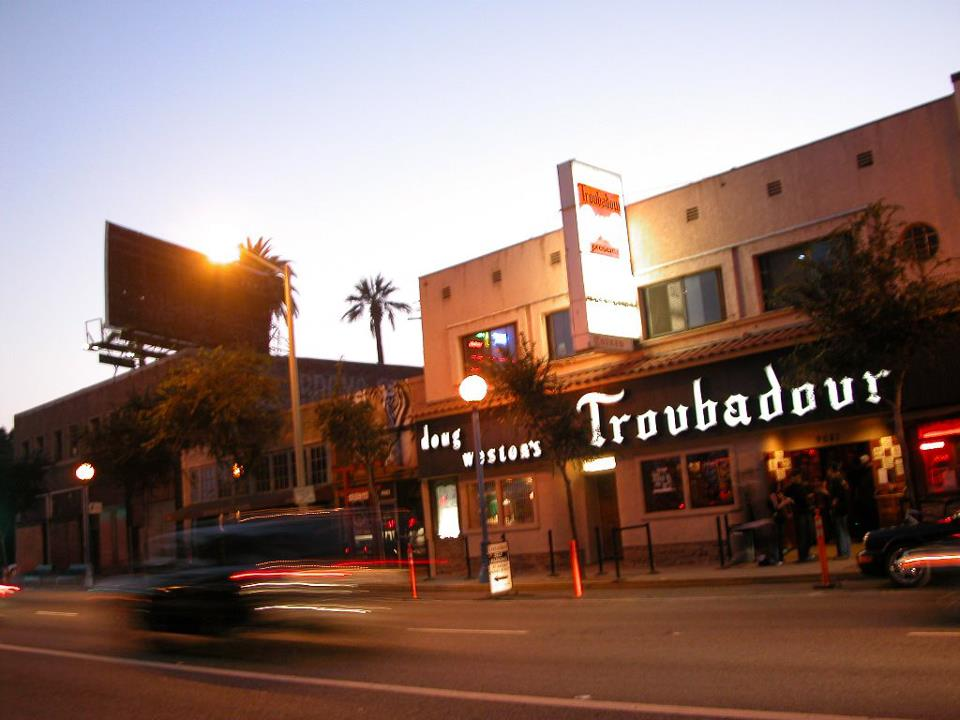 Saturday night: Disneyland. Sunday night… Hollywood! Come see us at the Troubadour in LA, doors open at 8pm, show at 9:30! Get tickets  HERE .
