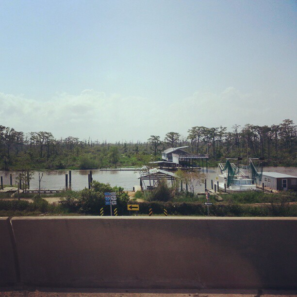 Good to be back on the Bayou in Louisiana!