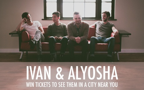 Hey Canadians! Exclaim! has launched a contest to win two tickets to one of our Canadian shows plus a copy of our album All The Times We Had! Radical right? All you've gotta do to enter the contest is answer a couple questions! Check it out!     http://exclaim.ca/Contests/ivan_alyosha_in_canada