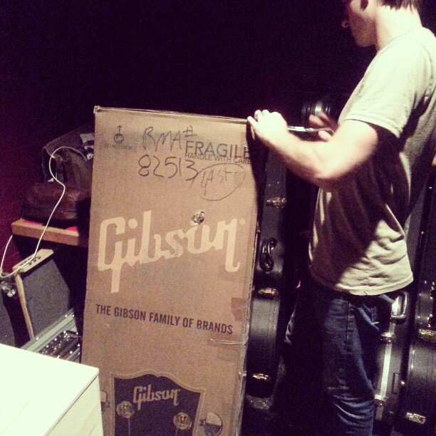 @Gibson206, you guys rock.  Thanks for sending Ryan the new ES!!!
