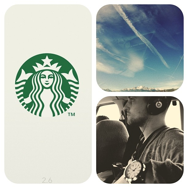 Coffee/scenery/music : things that help us stay alive on the road. See you @ #lowspirits tonight Albuquerque!