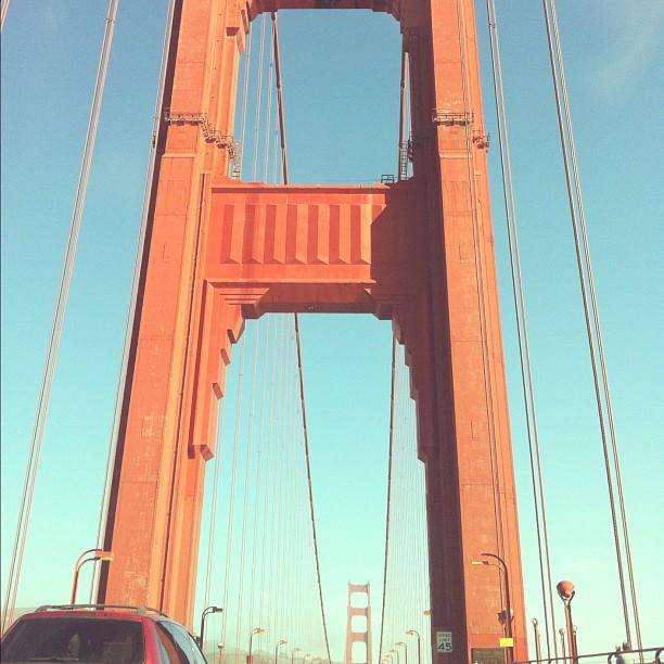 More bridges! #goldengate (Taken with  Instagram )