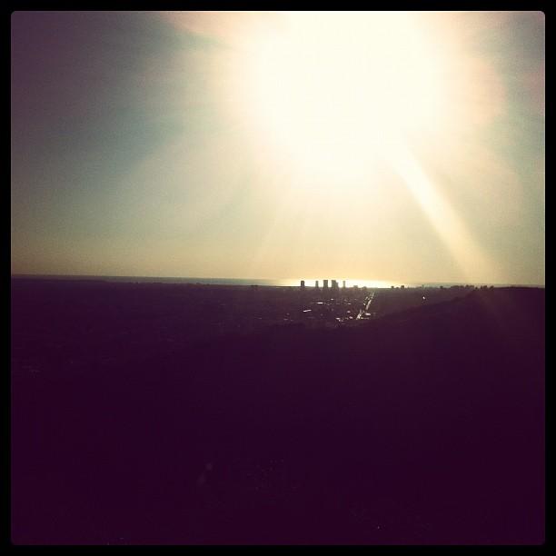 Crazy view of la (Taken with  instagram )