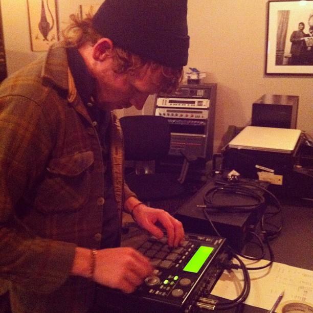 James, drums. (Taken with  instagram )
