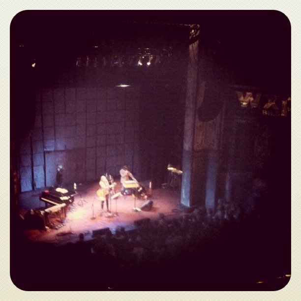 Aimee Mann (Taken with  Instagram  at World Cafe Live)