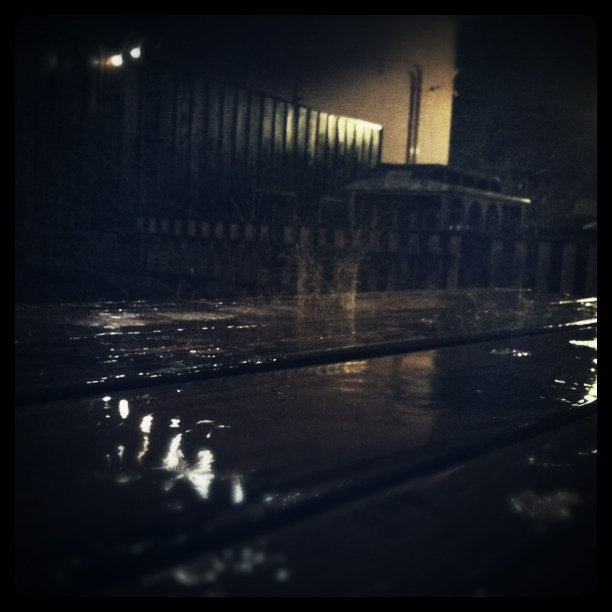 Raindrop (Taken with  Instagram  at Station Tavern)