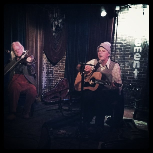 Mark Olsen at the Basement in Nashville! Great show! (Taken with  Instagram  at The Basement)