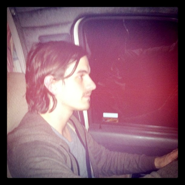 Ryan's driving (Taken with  Instagram  at 55 North)