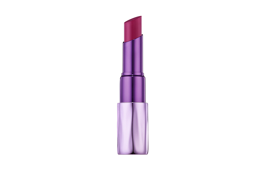 Urban Decay Sheer Revolution Lipstick pairs pigmented yet sheer and shiny colour with a creamy, shea-butter-enriched feel and a plumping ingredient called Maxi-Lip. 10 colours, $26 each, at Sephora and select Shoppers Drug Mart stores.