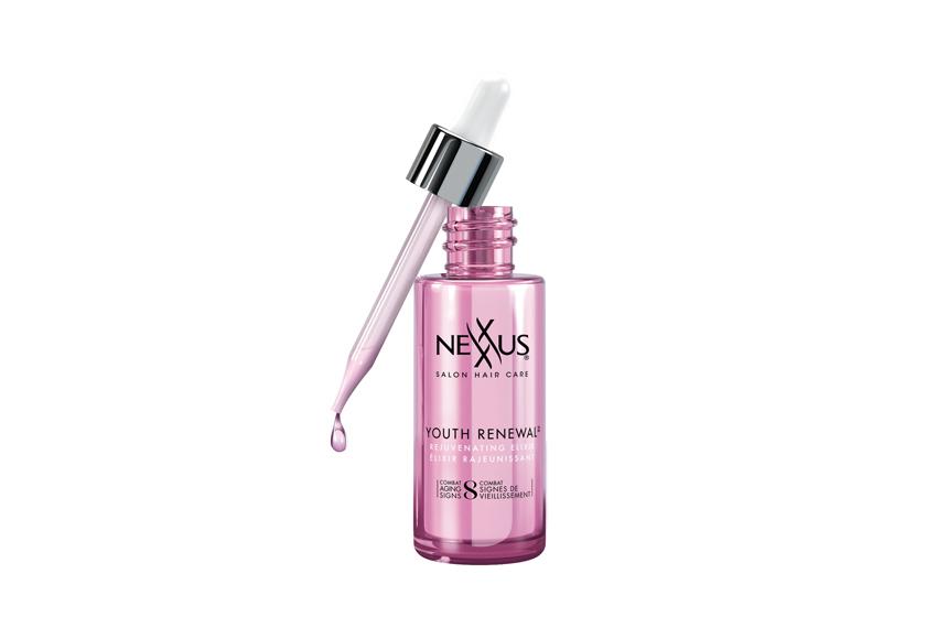 Nexxus Youth Renewal Rejuvenating Elixir, $20, at drugstores